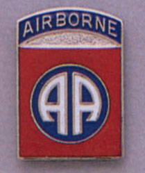 82ND Airborne Pin
