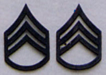 SSGT Subdued Pin On Rank