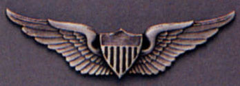 Army Aviator Wings Pin On