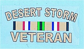 Desert Storm Veteran With Ribbon