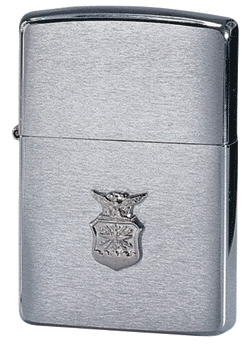 Brush Air Force Crest Zippo
