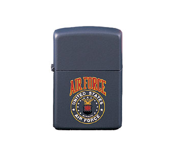 Blue Airforce Zippo