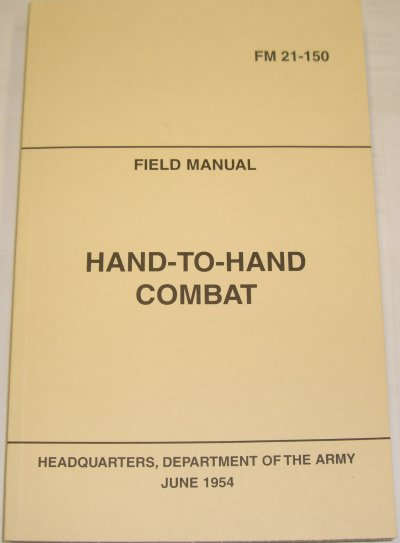 Hand To Hand Combat Manual