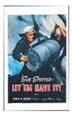 Sub-Spotted Navy Poster