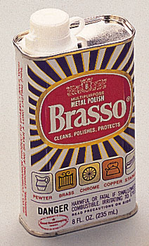 Brasso Metal Polish - A favorite for Generations