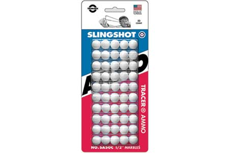 Half Inch White Shot 50 Count