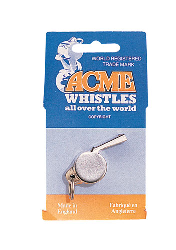 Acme Thunderer Whistle Official referee whistle