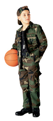 Childrens Camo Clothing-Toys