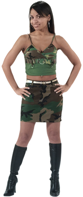 Female Camo Clothing