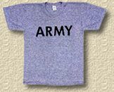 ARMY P-T T-SHIRTS
