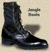 Import Jungle Boots Great Value copy of GI Jungle